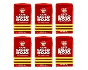6x-Cafe-Sello-Rojo-Espresso-Ground-Coffee-6-x-500-g-Colombia