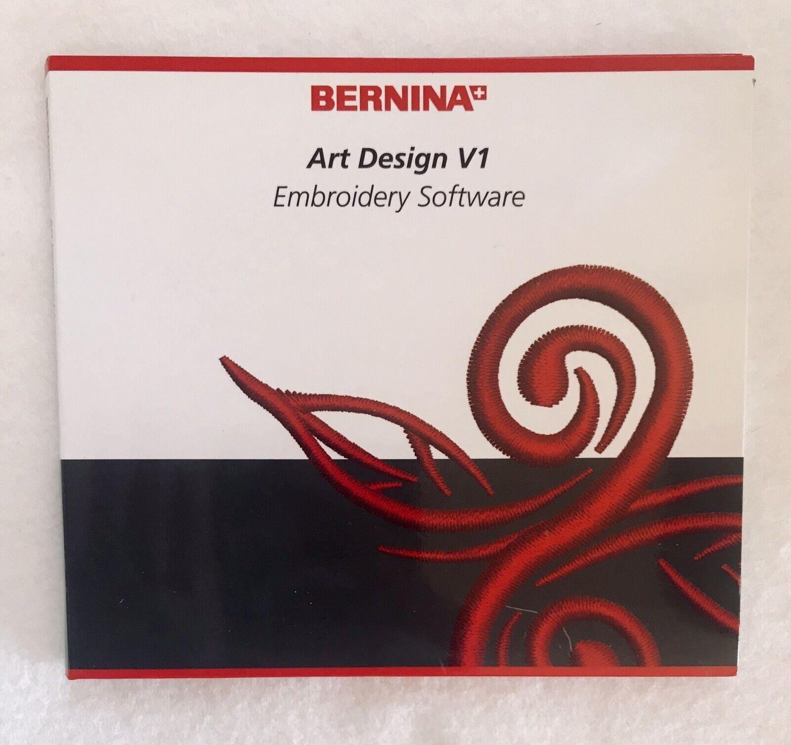 Genuine Bernina Installation Cd Art Design V1 Embroidery Software For Sale Online Ebay