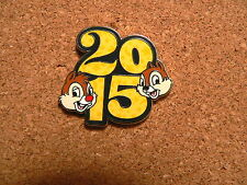 Chip & Dale Disney Pin - 2015 Dated Booster Collection