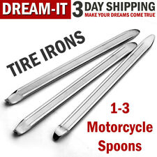 Motorcycle Spoon Tire Irons Lever Tools Changer Iron Tire Changing Repair Kit Us