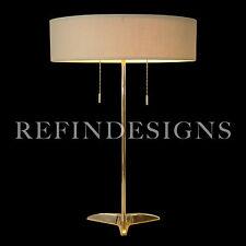 STIFFEL GERALD THURSTON ATOMIC MODERN BRASS ROCKET BASE TABLE LAMP1950'S SUBLIME