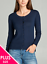 Women-Long-Sleeve-Crew-Neck-Plus-size-Cardigan-Sweater-Knit-Top-1X-2X-3X thumbnail 9