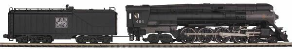 MTH 20-3486-1, 4-8-4 GS-6 Steam Engine w/Proto-Sound 3.0, Western Pacific  484