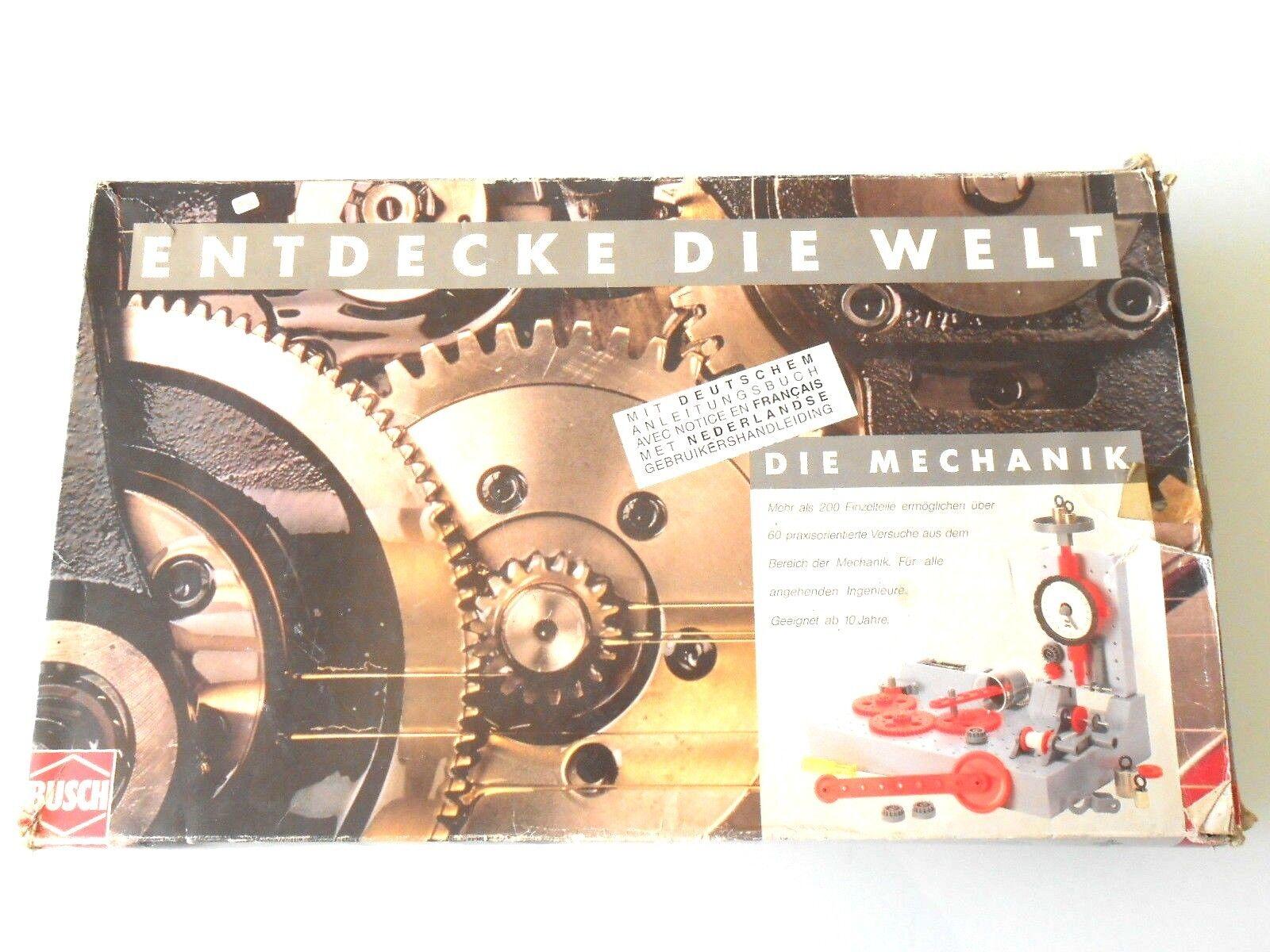 Busch - Entdecke die Welt - Die Mechanik 2210