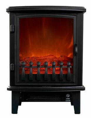 Enjoyable Heller Electric Fireplace Heater 1800W Heating Flame Fire Effect Freestanding 9312737100009 Ebay Home Interior And Landscaping Ologienasavecom