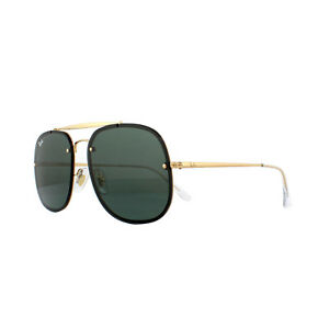 6533de9970 Ray-Ban Sunglasses Blaze The General RB3583N 905071 Gold Dark Green ...