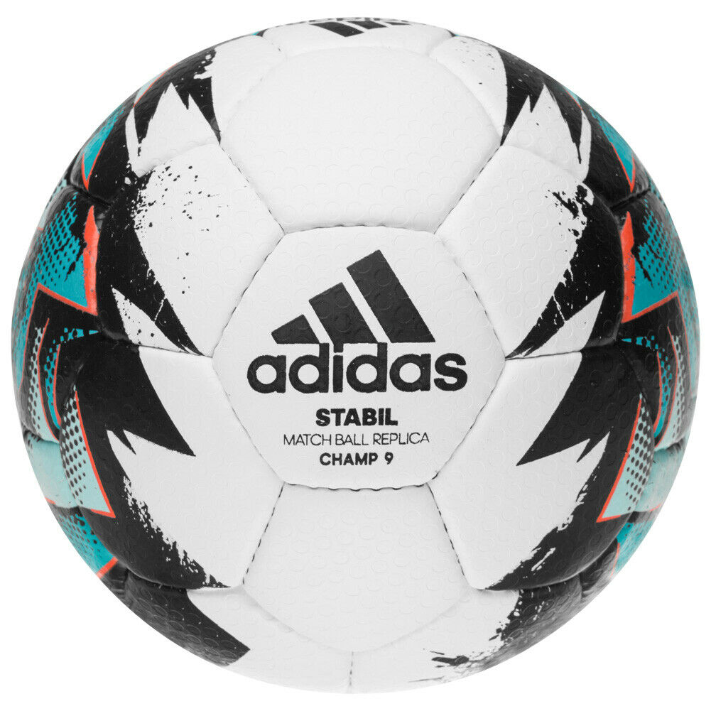 Adidas Stabile Champ 9 Pallamano Matchball Sale Sport Palla Palla Palla CD8589 Weiss Neu 817cad