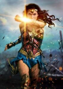 WONDER-WOMAN-Movie-PHOTO-Print-POSTER-Textless-2017-Film-Art-Gal-Gadot-DC-020