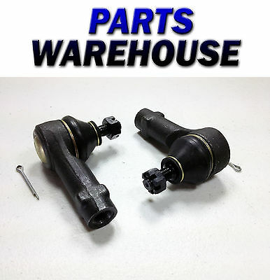 2 Front Outer Tie Rod Ends - Steering Part Es3377 1 Year Warranty