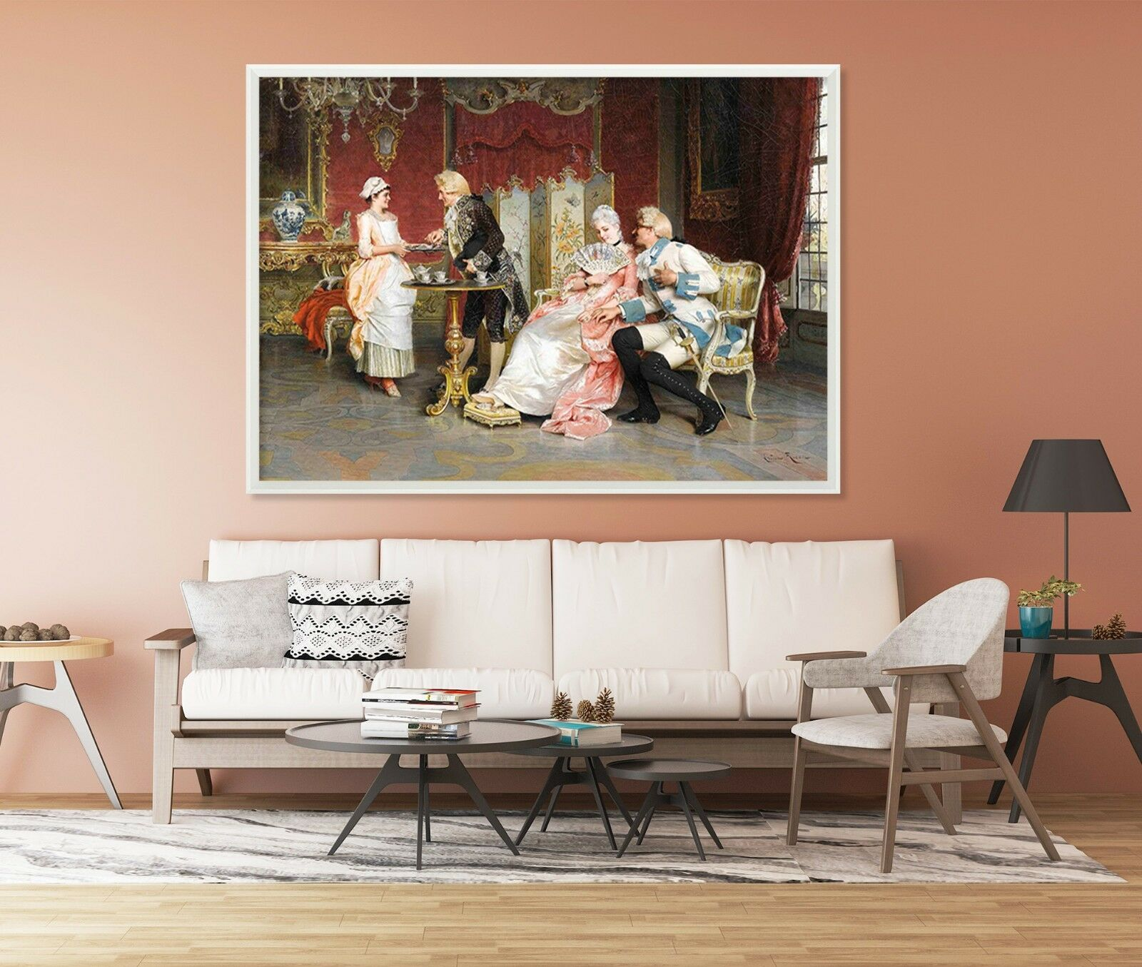 3D Europe Royal Painting 9 Framed Poster Home Decor Print Painting Art WALLPAPER