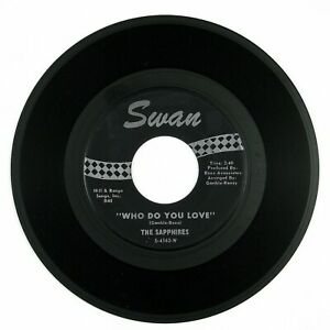 SAPPHIRES-Who-Do-You-Love-Oh-So-Soon-7IN-1963-NORTHERN-SOUL-VG