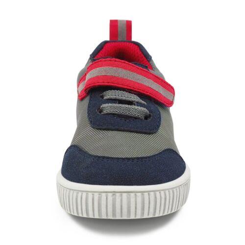 toddler size 6-12 NEW Livie /& Luca boys  sneakers VAULT in Slate Gray