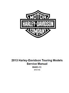 2013 Harley Davidson Electra Glide FLHTC FLHTCU FLHTK Service Shop Manual On CD