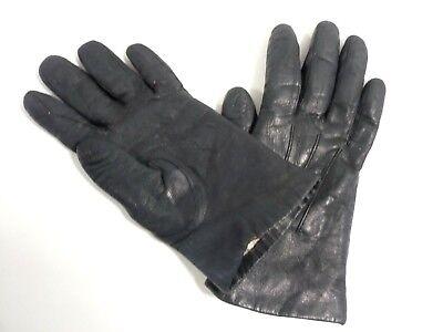 Ordinato Guanti Mantessa Pelle Interno In Pelo Vintage Taglia 6 O 6.5 Per Piccola/fine Impermeabile, Resistente Agli Urti E Antimagnetico