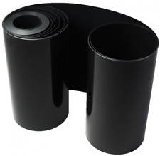Wurzelsperre Bambussperre Rhizomsperre HD PE Folie schwarz 1mm 60 cm 25 m