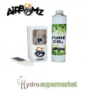 AIRBOMZ  DISPENCER /& REFILL CANISTER YIELD IMPROVER HYDROPONICS CO2 DISPENSER