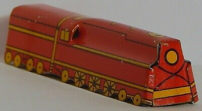 1931 Cracker Jacks Prize Locomotive Lithograph Vintage 1930/'s Cracker Jack Litho Tin Train Model Train Tin Toy
