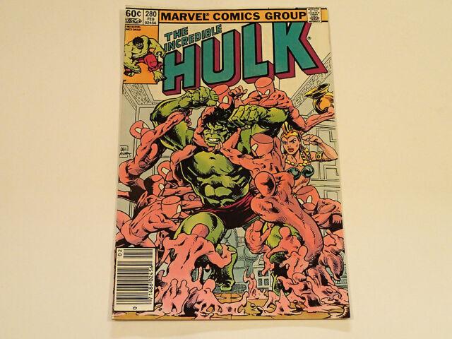THE INCREDIBLE HULK #280 1983 Marvel Comics FN/VF *