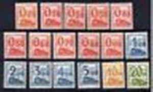 FRANCE-COLIS-POSTAUX-31-47-034-17-TIMBRES-TRAINS-CHEMIN-DE-FER-034-NEUFS-xx-LUXE