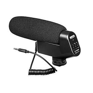 Boya By Vm600 Shotgun Cardioid Directional Condenser Microphone