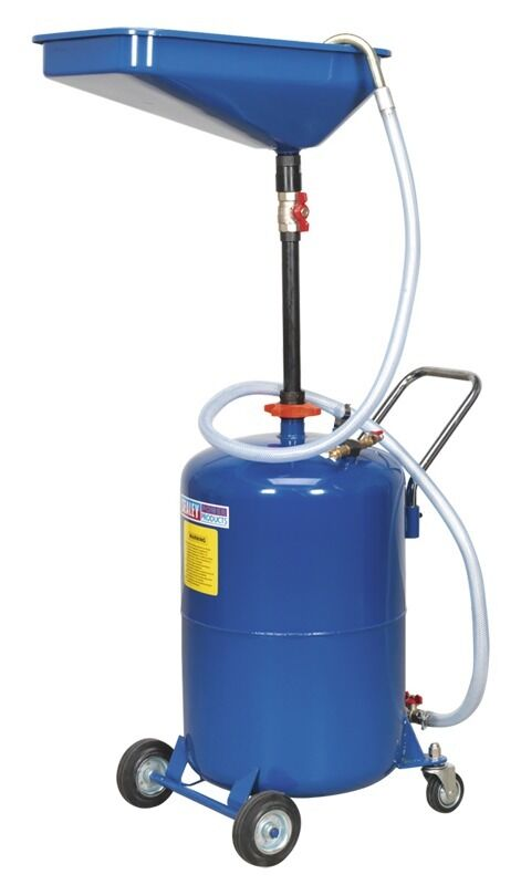 Sealey Waste Oil Drainer 65ltr Air Discharge AK451DX