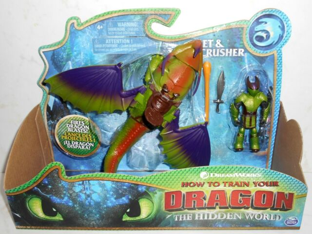How To Train Your Dragon Eret Skullcrusher Toy Figure New