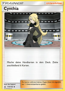 Cynthia-119-156-SM5-Ultra-Prisma-Uncommon-DE-NM-Pokemon
