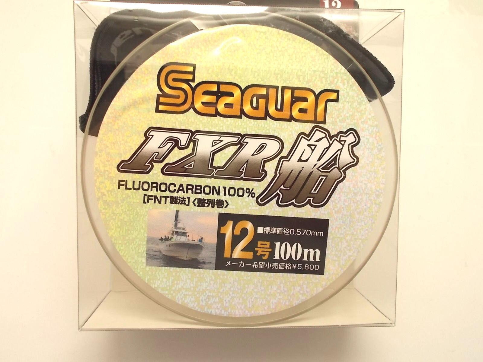 SEAGUAR FXR FLUgoldCARBON LEADER LINE 100m - lb 0.570mm  From Japan