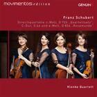Schubert: Streichquartette D 703, D 46 und D 804 (CD, May-2015, Genuin (Label))