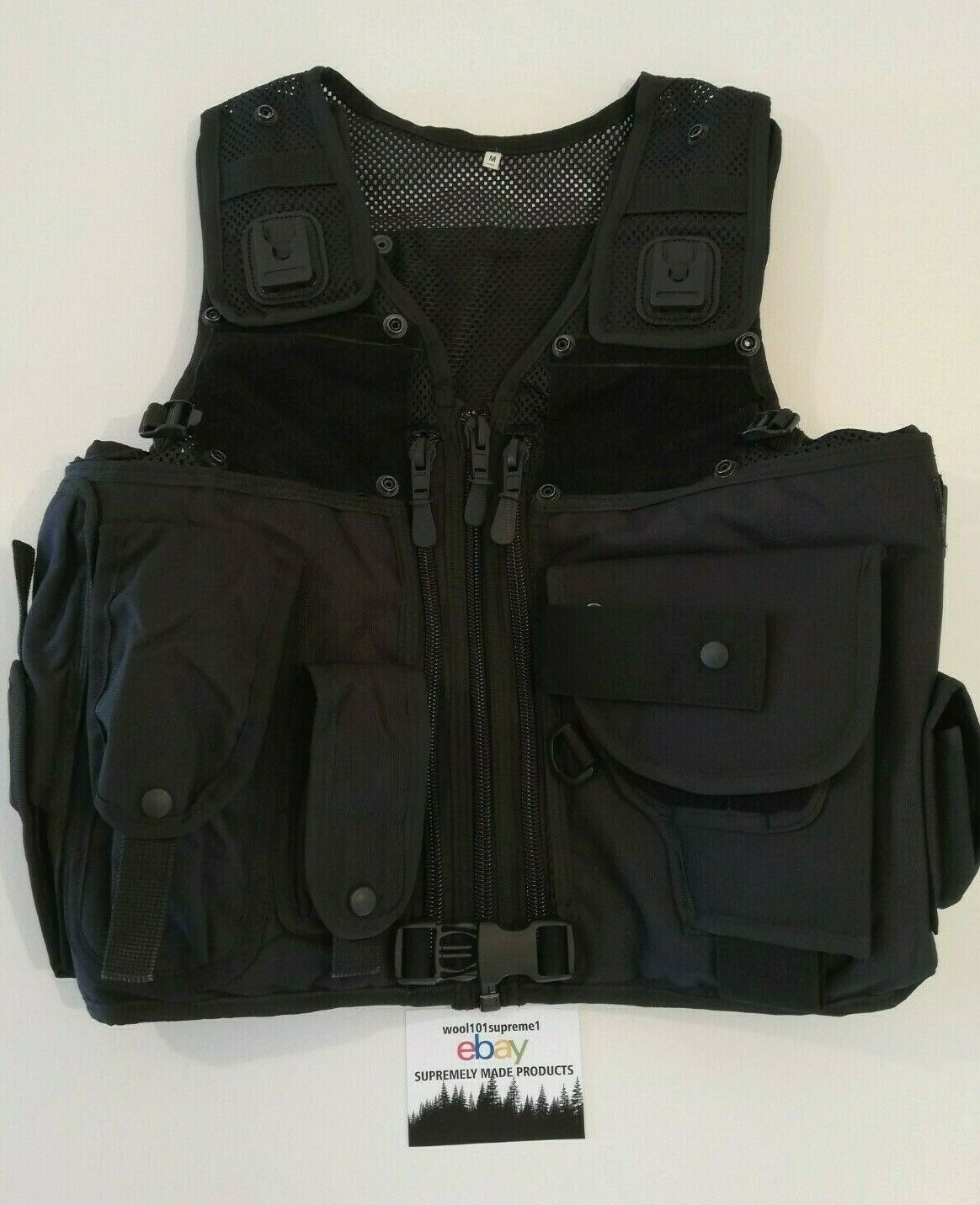 ARKTIS Police force professional tactical vest -size M-Supremely  made for police  save 60% discount