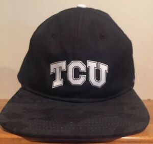 TCU Horned Frogs Nike Snapback Hat Cap Dri-Fit. College Football  6af2fe293da