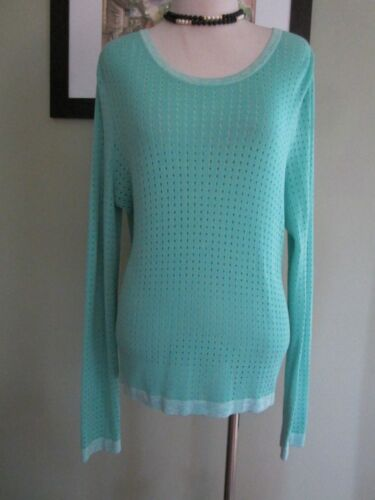 M Sweater Teal Blue Størrelse Back Rag Bone Open xqwfg0nA6