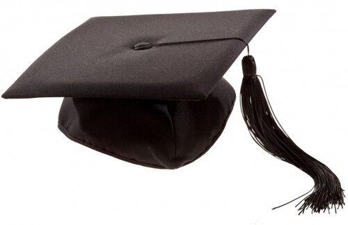 12x Doktorhut Doktorand Diplom Hut Karneval Fasching Doktor Diplom College Party
