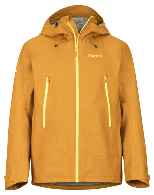 Marmot Red Star Jacket 3 Layer Nanopro Wind Rain Snow Shell With Tags For Sale Online Ebay