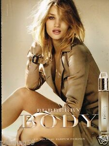 Advertising Détails 2011 Rosie Sur Publicité Whiteley Body Huntinghton Parfum Burberry SMqUVpz