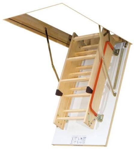 escalier de stockage Gedämmte sol escalier Grenier escalier//de nombreuses tailles//Main courante