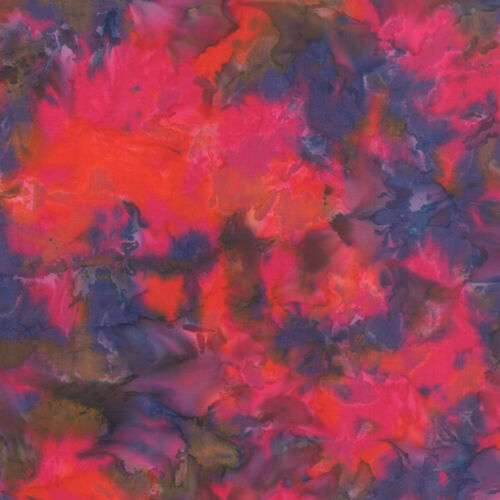 Fabric ~ TROPICAL PUNCH BATIKS ~ by Moda by the 1//2 yd 4338 16 Berrylicious