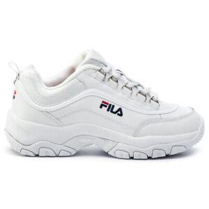 Fila Strada Low Wmn 1010560-1FG White