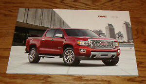 Image Is Loading Original 2017 Gmc Canyon Truck S Brochure 17