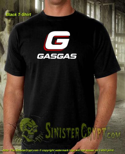 Gas Gas Motorcycle T-Shirt Dirt Enduro Trails GasGas Motorcycles Biker S-6XL