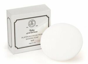 Taylor-Of-Old-Bond-St-Shaving-Soap-Wooden-Bowl-Refil-Platinum-Collection-100g
