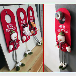 Santa-Claus-Snowman-Door-Hanging-Christmas-Tree-Home-Decor-Ornaments-Xmas-Gift