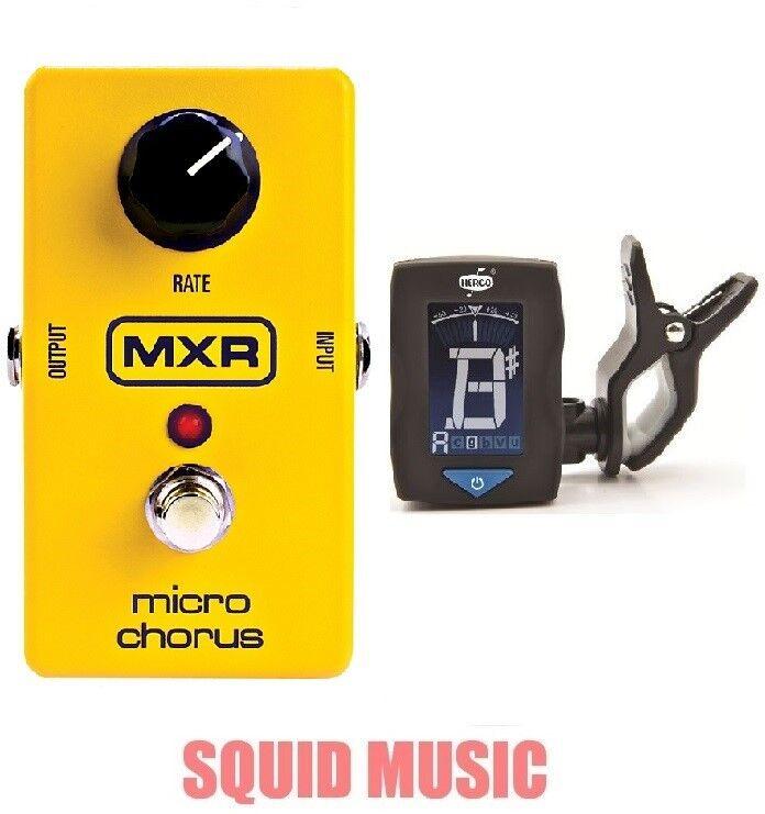 MXR Dunlop M-148 Micro Chorus Guitar Effects Pedal M148 ( FREE GUITAR TUNER )