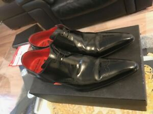 West Uk 7 cuir 100 Taille Chaussures Jeffery originales EtwqWpA