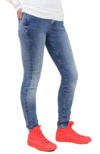 3301 Contour Maigre 60877 aged star 6742 G Me Bleu 071 Jeans Skinny 5FARRx