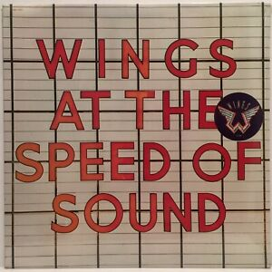 PAUL-McCARTNEY-WINGS-AT-THE-SPEED-OF-SOUND-ORIGINAL-1976-1ST-PRESS-HYPE-LP-MINT