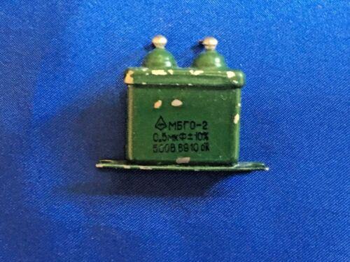 MBGO-2 CAPACITOR 0.5uF 500v Lot of 24pcs NEW