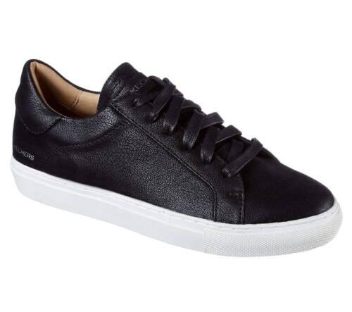 $266 Skechers Womens Black Vaso Memory Foam Lace UP Sneakers Shoes Size 7