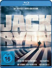 ALEC BALDWIN,SEAN CONNERY BEN AFFLECK - JACK RYAN BOX  4 BLU-RAY NEU