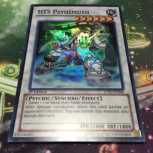 1st Edition x3 Near Mint Super Rare JOTL-EN046 HTS Psyhemuth